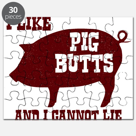 I Like Pig Butts Puzzle