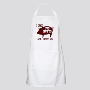 I Like Pig Butts Apron