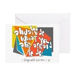 Dont Be Afraid to Try Greeting Cards