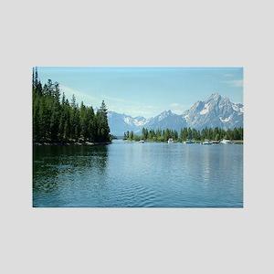 Grand Teton National Park landsca Rectangle Magnet