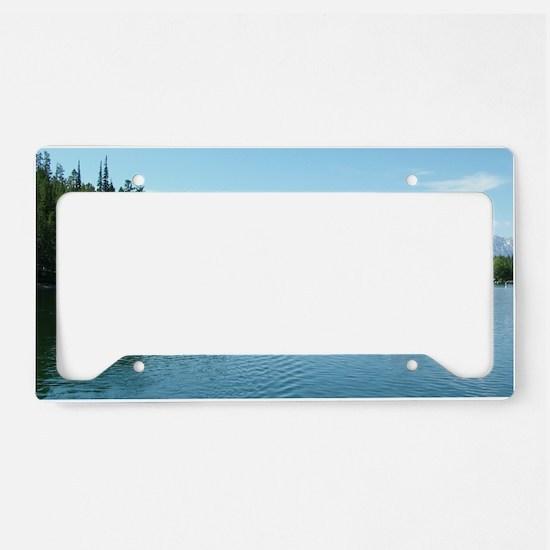 Grand Teton National Park lan License Plate Holder