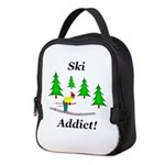 Ski Addict Neoprene Lunch Bag
