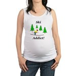 Ski Addict Maternity Tank Top