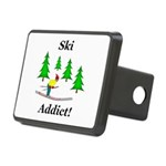 Ski Addict Rectangular Hitch Cover