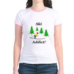 Ski Addict Jr. Ringer T-Shirt
