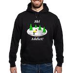 Ski Addict Hoodie (dark)