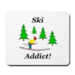 Ski Addict Mousepad