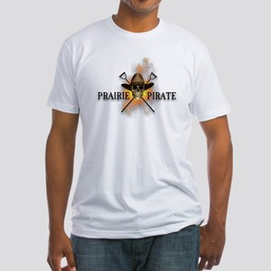 Prairie Cowboy Pirate Fitted T-Shirt