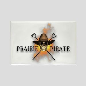 Prairie Cowboy Pirate Rectangle Magnet