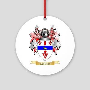 Davidson Ornament (Round)