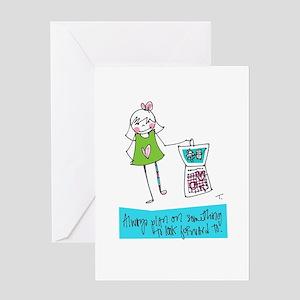 Mark Your Calendar Greeting Cards