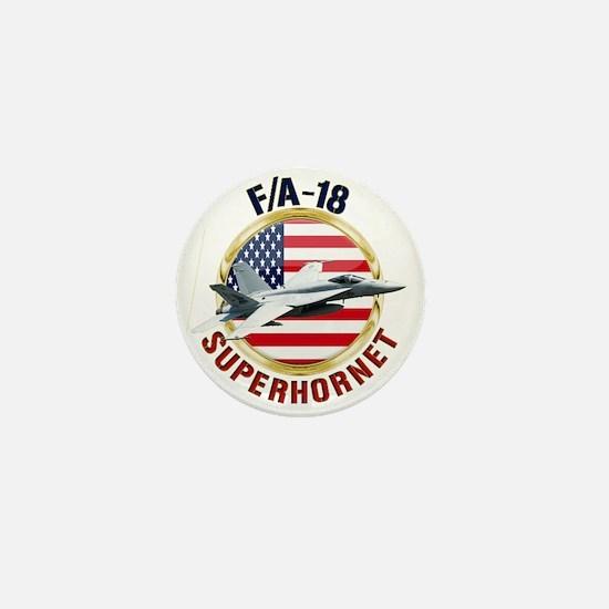 F/A-18 Hornet Mini Button