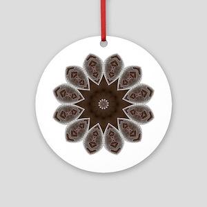 Namaste Art Mandala Ornament (Round)