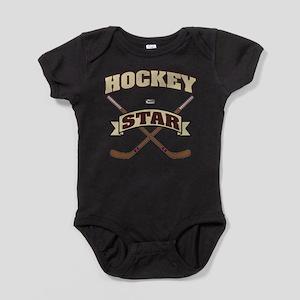 Hockey Star Baby Bodysuit