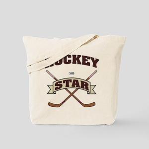 Hockey Star Tote Bag