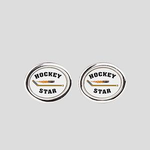 Hockey Star Cufflinks