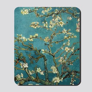 Blossoming Almond Tree, Vincent van Gogh Mousepad