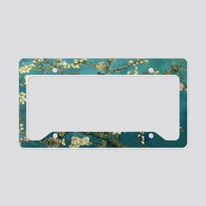 Blossoming Almond Tree, Vince License Plate Holder