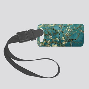 Blossoming Almond Tree, Vincent  Small Luggage Tag