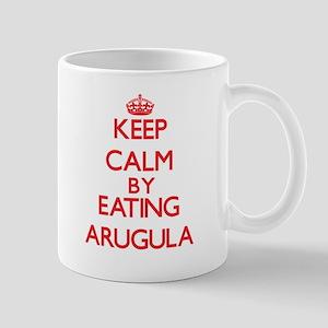 Keep calm by eating Arugula Mugs