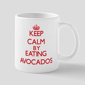 Keep calm by eating Avocados Mugs