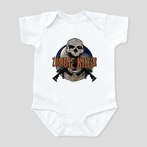 Tactical zombie killer Infant Bodysuit