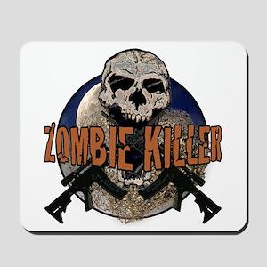 Tactical zombie killer Mousepad