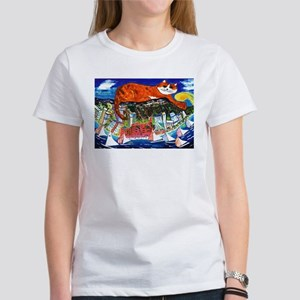 Diamond Head Cat T-Shirt