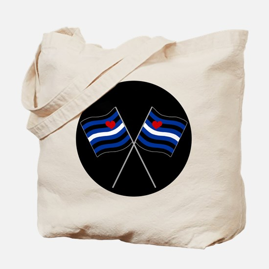 BDSM Racing Flags Tote Bag