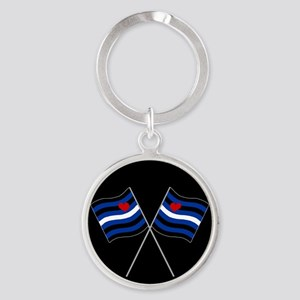 BDSM Racing Flags Keychains