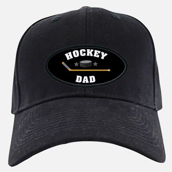 Hockey Dad Baseball Hat