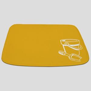 Yellow Beach Themed Bathmat