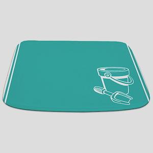 Turquoise Beach Themed Bathmat