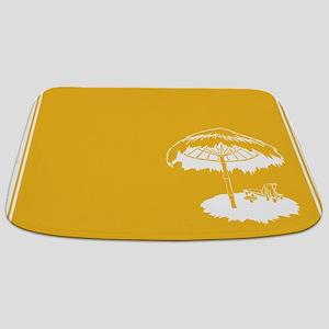 Tropical Beach Themed Bathmat