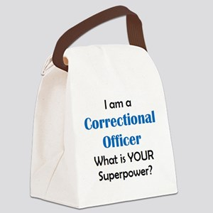 correctional officer Canvas Lunch Bag