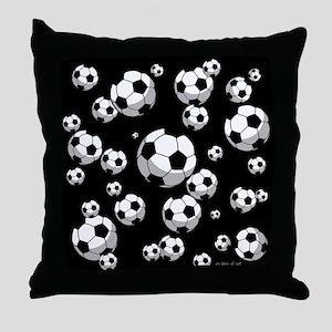 Soccer Throw Pillow