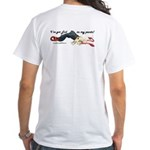 "White ""I've Got Evil in my pants"" T-Shirt"