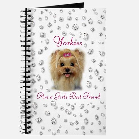Yorkies are a Girls Best Friend Journal
