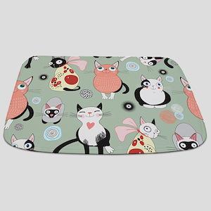Cute Cats Bathmat
