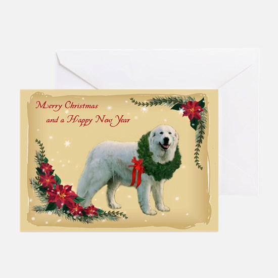 Great Pyrenees Christmas Greeting Cards (pk Of 20)