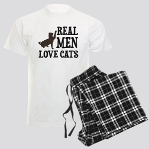 Real Men Love Cats Pajamas
