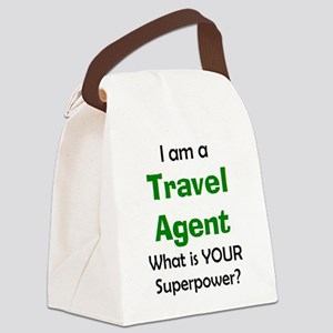 travel agent Canvas Lunch Bag