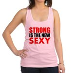 STRONG IS THE NEW SEXY Racerback Tank Top