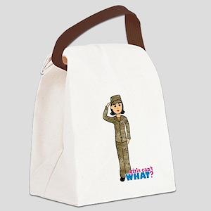 Air Force Camo Medium Canvas Lunch Bag
