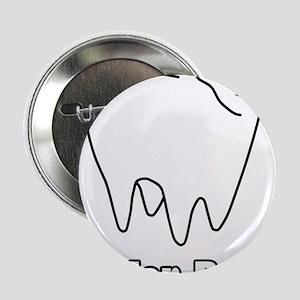 """Molar Bear Polar Tooth Bear 2.25"""" Button"""