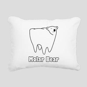 Molar Bear Polar Tooth Bear Rectangular Canvas Pil