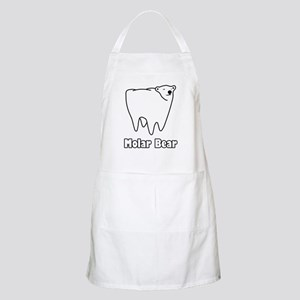 Molar Bear Polar Tooth Bear Apron