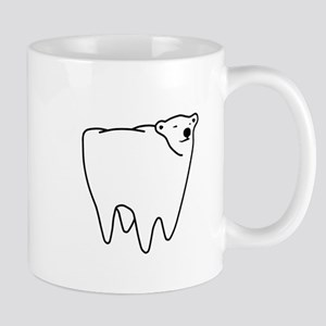 Molar Bear Polar Tooth Bear Mugs