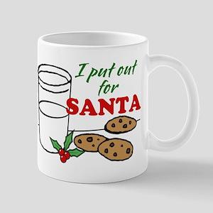 Cookies and Milk Christmas Humor Mugs