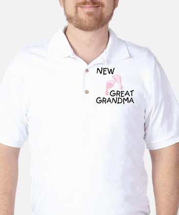 newggrandmapink Golf Shirt